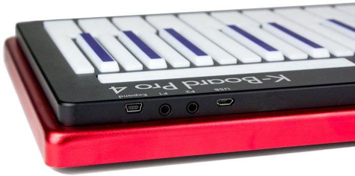 K Board Pro 4 - rear ports