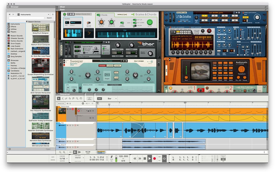 Reason Studios née Propellerhead intros Reason 11 as a plugin