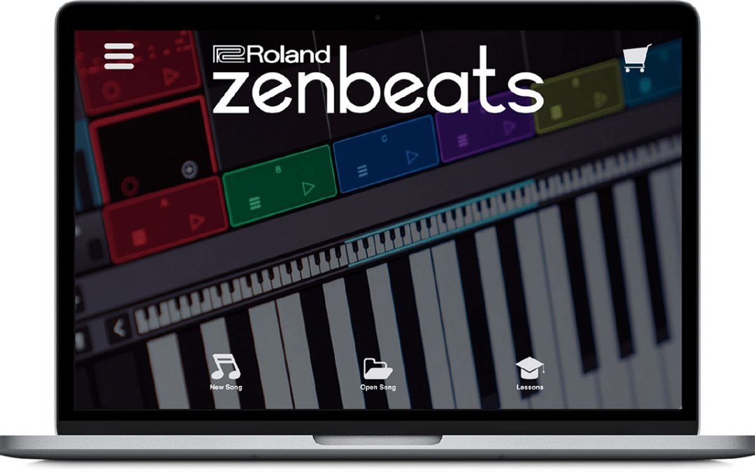 Roland releases cross-platform music creation app Zenbeats