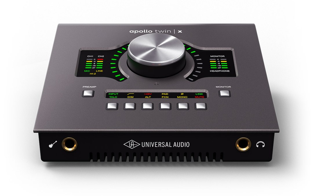 Universal Audio releases new Apollo Twin X Thunderbolt 3 interface