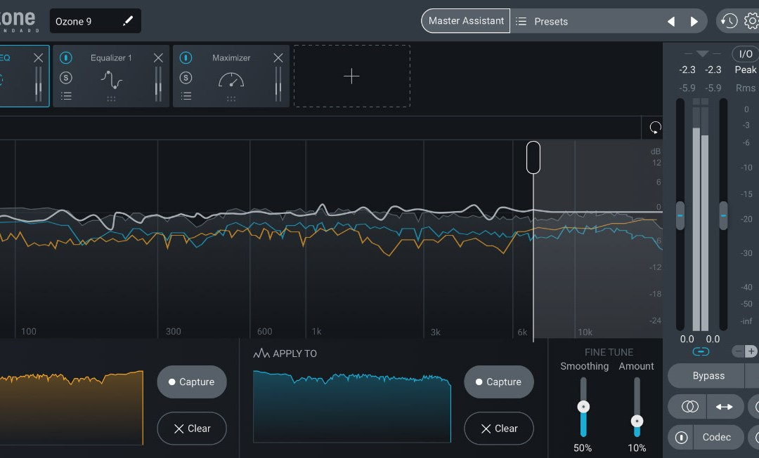 iZotope debuts smart mastering with Ozone 9