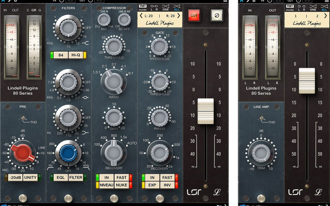 Plugin Alliance Lindell 80 Series evokes classic Neve console