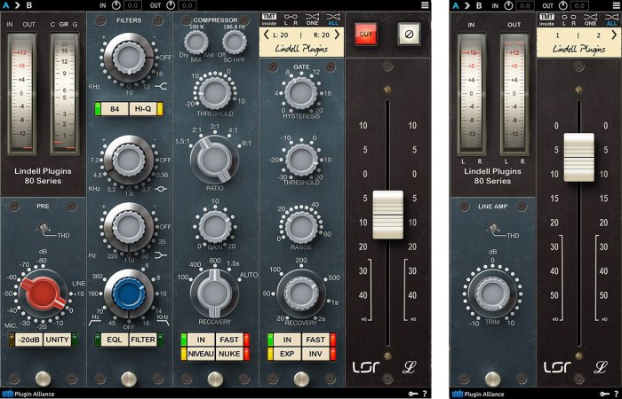 Plugin Alliance Lindell 80 Series