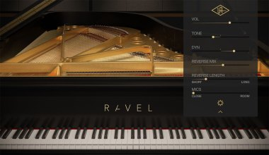 Universal Audio LUNA Ravel Pinao