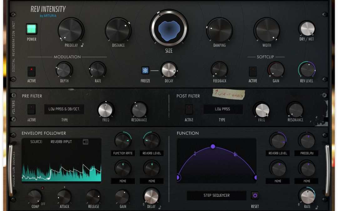 Arturia launches FX Collection with three new reverbs
