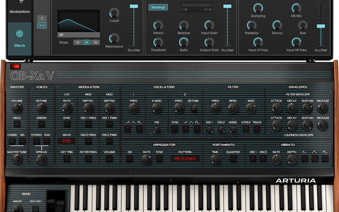 Arturia releases OB-Xa V vintage synth with a modern twist