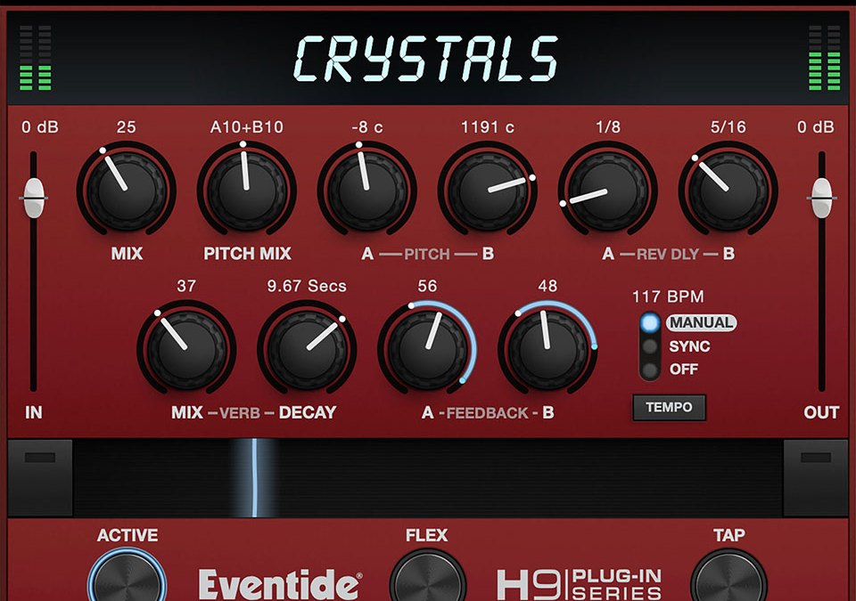 Eventide's iconic Crystals effect is now a macOS & iOS plugin