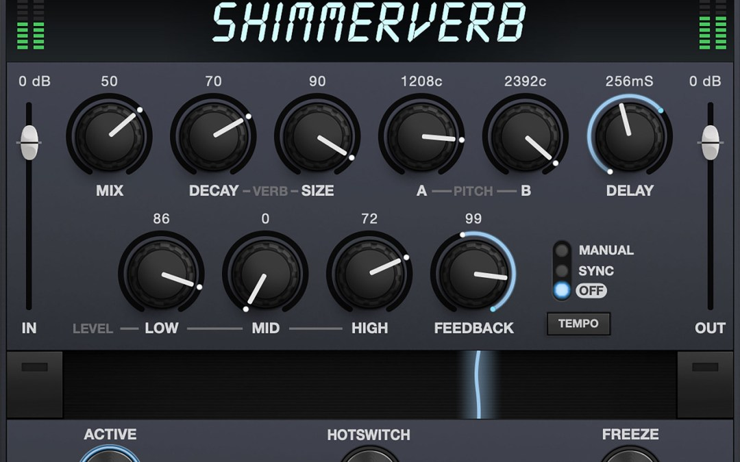 Eventide releases ShimmerVerb lustrous reverb on Mac and iOS