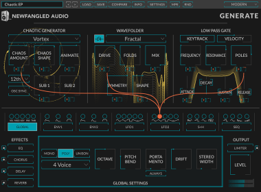 Eventide Newfangled Audio Generate