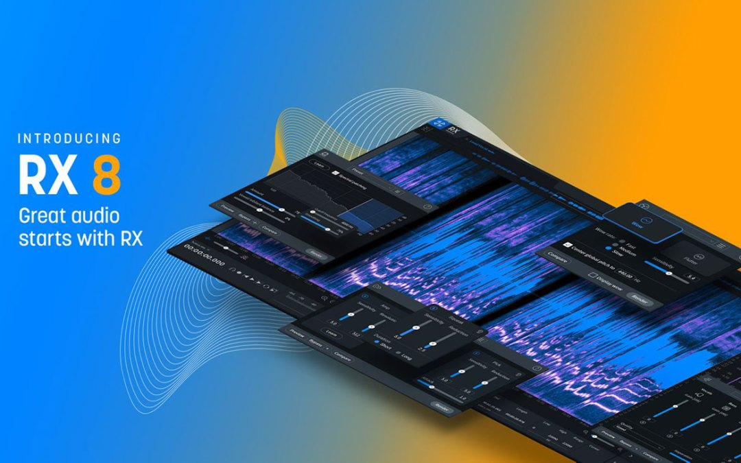 iZotope releases RX 8 and updates flagship suites