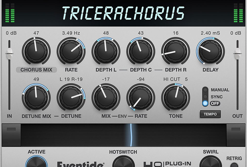 Eventide TriceraChorus evokes vintage vibe on macOS and iOS