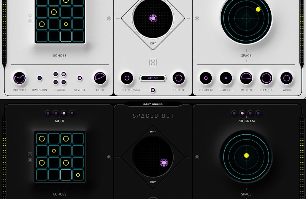 Baby Audio Spaced Out combines lush reverb and delay