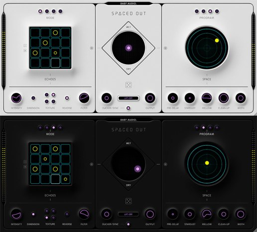 Baby Audio Spaced Out (Light and Dark modes)