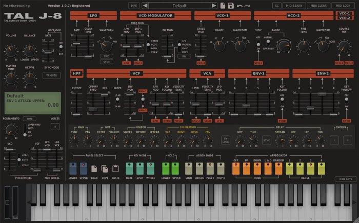 TAL Software TAL-J-8