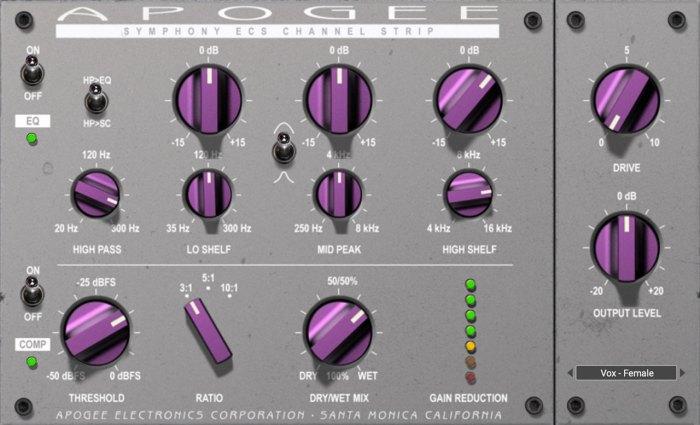 Apogee Electronics Symphony ECS Channel Strip