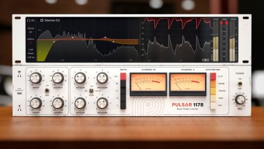 Pulsar 1178 dual peak limiter