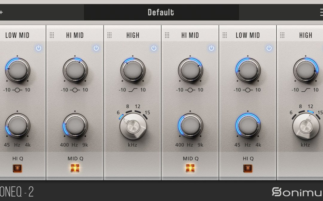 Build your own EQ with the new Sonimus SonEQ 2