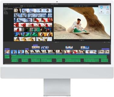 Apple M1 iMac (2021) - iMovie