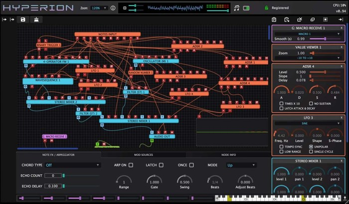 Wavesequencer launches Hyperion modular synth