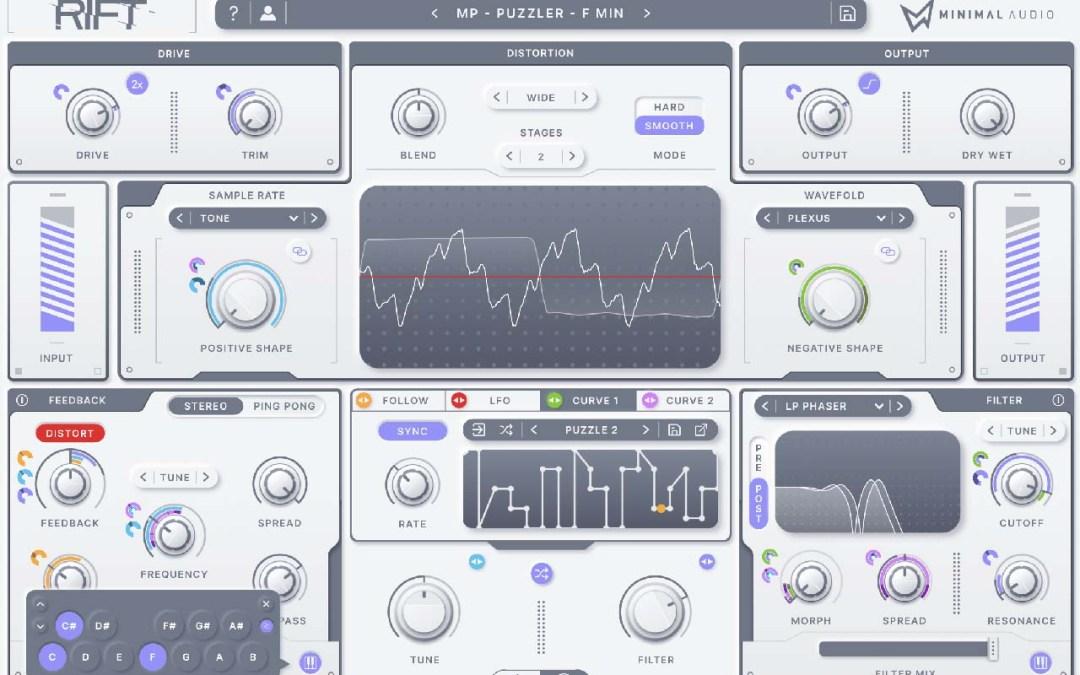 Minimal Audio unleashes Rift hybrid distortion