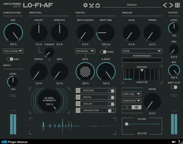 Plugin Alliance & Unfiltered Audio LO-FI-AF