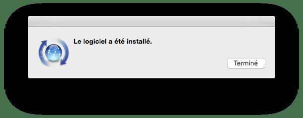 Xcode Command Line Tools Yosemite installation complete