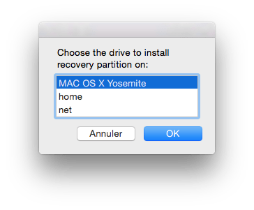 yosemite recovery partition restauration