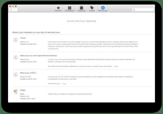 itunes yosemite app store