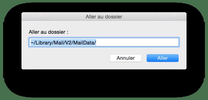 reparer mail yosemite maildata