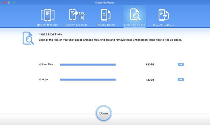 nettoyer son iphone user data et apps