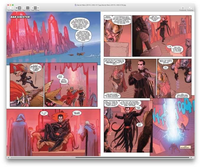 onglets macos sierra simple comic
