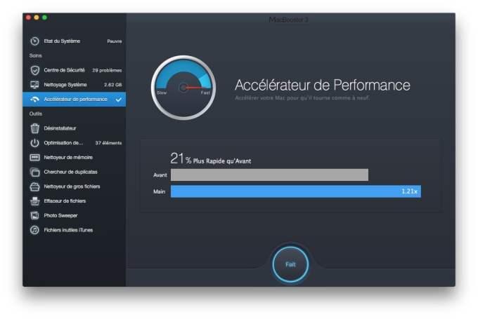 Accelerer macOS Sierra plus rapide