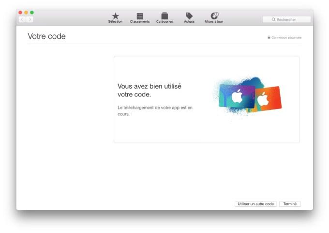 MacOS Sierra beta publique code utilise