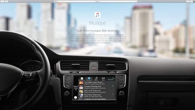 Apple Carplay musique