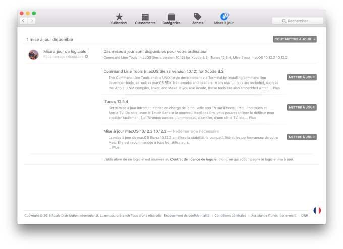 macos sierra 10.12.2 app store