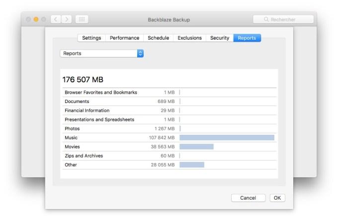 Sauvegarder son Mac dans le Cloud rapports