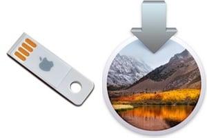 Creer une cle USB bootable de macOS High Sierra 10.13 tutoriel