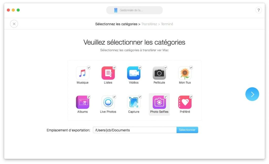 installer ios 12 sauvegarder photos videos musique messages