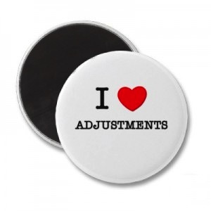 I Love Adjustments Button