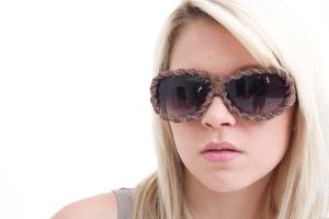 Boseett macrame sunglasses