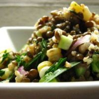 BEANS:  Lentils with Vegetables