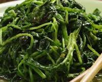 VEGETABLES:  Watercress with Sesame & Shiso