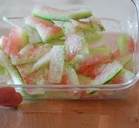 CONDIMENTS:  Watermelon Rind Condiment