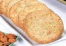 Cookie de vainilla con almendras fileteadas