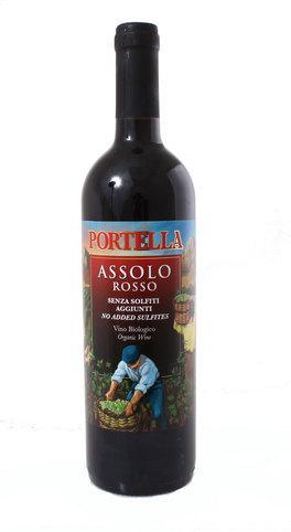 Assolo Rosso - Vino Biologico - 0,75 cl