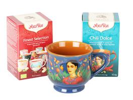 Cofanetto Yogi Tea - 2 Yogi Tea + Tazza in Porcellana