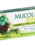 Mucolid Bronc - Caramelle per la Gola con Propoli, Erisimo, Drosera e Pino