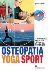 Osteopatia Yoga Sport con CD Audio - Libro