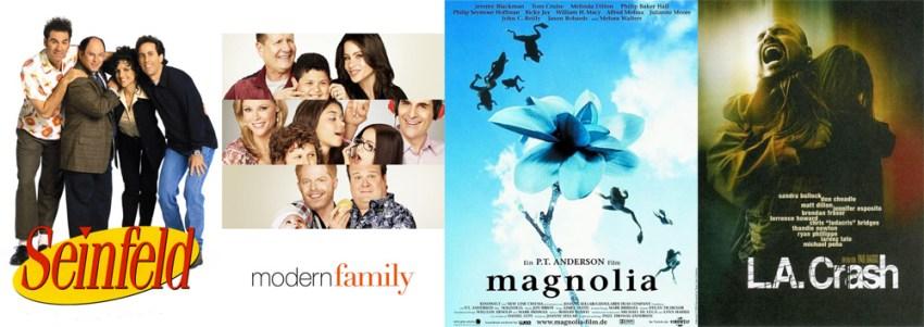 Filme und Serien mit Harold-Struktur