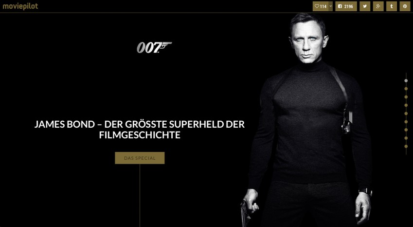 James Bond Dossier - Artikel von moviepilot